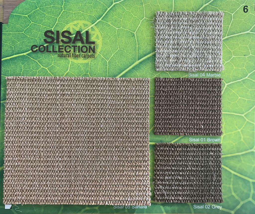 Sisal Collection Natural Fiber Carpets